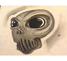 Extra Terrestrial Skull Photographic Print