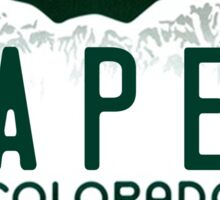 Colorado Gaper Plate Sticker