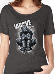From Above Comic Book Women's Relaxed Fit T-Shirt