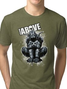 From Above Comic Book Tri-blend T-Shirt