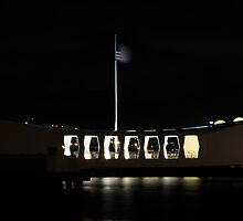 Arizona Memorial by Timothy L. Gernert