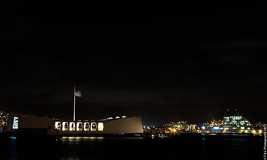 Arizona Memorial by thruHislens .