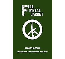 Full Metal Jacket (Alternative poster) Photographic Print