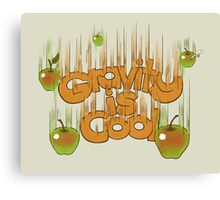 Gravity is cool Canvas Print