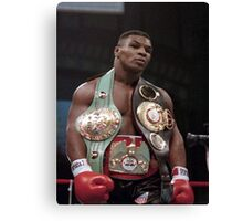 Mike Tyson Young Win Design  Canvas Print
