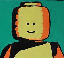 Lego Man 10 by Kaz Innes