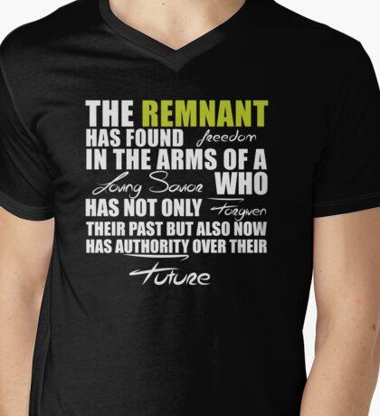 Remnant Freedom Mens V-Neck T-Shirt