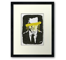 The Napoleon Of Crime Framed Print