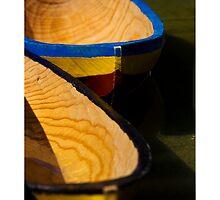 Wooden Boats by Ken Watt Photography