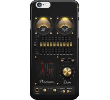 Music box amplifier iPhone Case/Skin