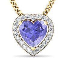 Heart Shaped Gold Pendant by markstill001