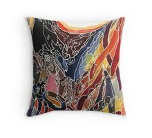 Let Go Or Be Dragged Throw Pillow