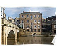 Ouse Bridge Poster