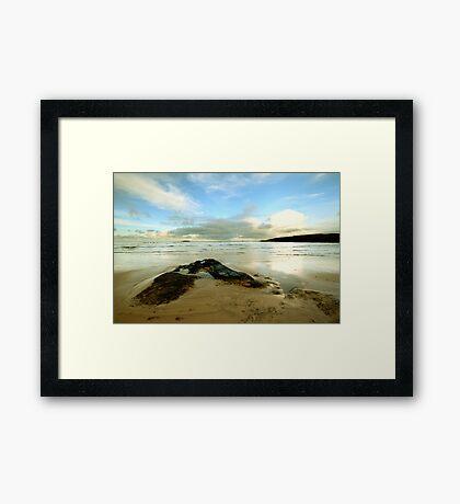 Harlyn Bay - Cornwall Framed Print