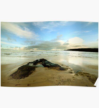 Harlyn Bay - Cornwall Poster