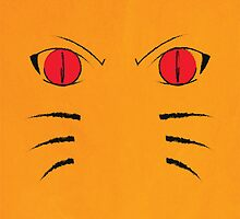 Naruto Poster - Nine Tails Fox by ShaheerA