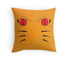 Naruto Poster - Nine Tails Fox Throw Pillow