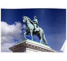 Equestrian Statue of Frederik V Poster