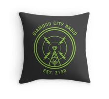 DIAMOND CITY RADIO Throw Pillow