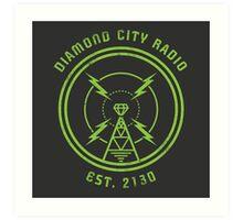 DIAMOND CITY RADIO Art Print