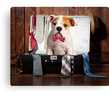 Ready for work Canvas Print