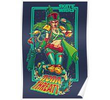 SKATE WARS: BOBA THREATT Poster