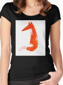 Just a Fox Women's Fitted Scoop T-Shirt