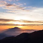Dieng Sunrise by Naomi Brooks