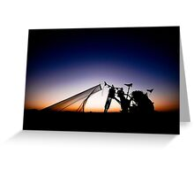 That Sunset Photo Greeting Card