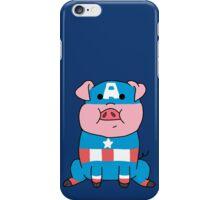 Captain Ameripig Waddles iPhone Case/Skin