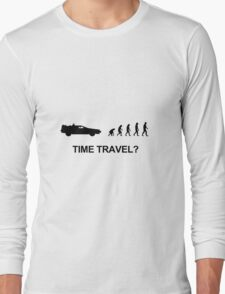 Time travel and evolution Long Sleeve T-Shirt