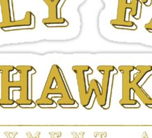Jolly Fats Wehawkin Employment Agency Sticker
