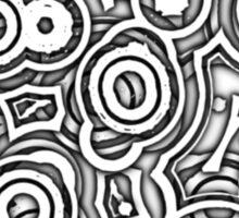 Wheels Within Wheels - on white Sticker