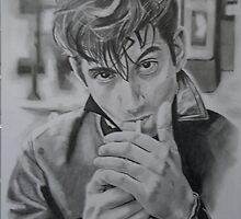 Alex Turner(Arctic Monkeys) by lee gordon