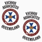 Vicious Associates - stickers! by Tunic