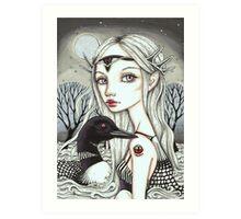 Great Loona Art Print