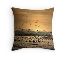 Life in the Wee Hours Throw Pillow