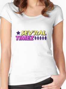 Sev'ral Timez! [Gravity Falls] Women's Fitted Scoop T-Shirt