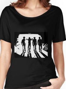A Clockwork Orange silhouettes Women's Relaxed Fit T-Shirt