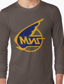 Mikoyan-Gurevich (Russian Aircraft Corporation MiG) Logo Long Sleeve T-Shirt