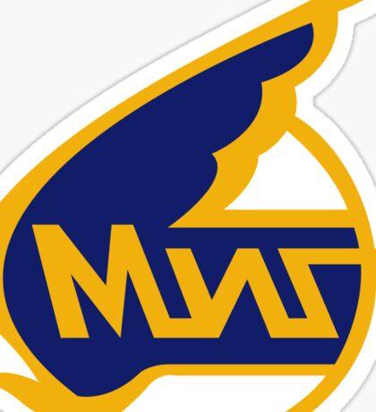 Mikoyan-Gurevich (Russian Aircraft Corporation MiG) Logo Sticker