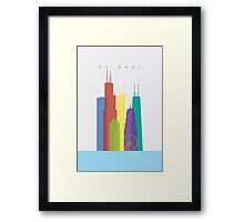 Chicago Art Framed Print