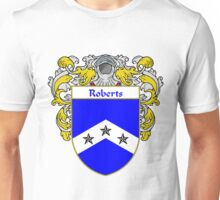 Roberts Coat of Arms / Roberts Family Crest Unisex T-Shirt