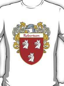 Robertson Coat of Arms / Robertson Family Crest T-Shirt