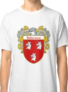 Robertson Coat of Arms / Robertson Family Crest Classic T-Shirt