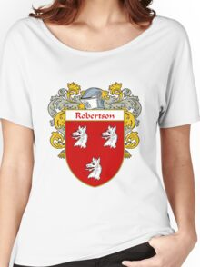Robertson Coat of Arms / Robertson Family Crest Women's Relaxed Fit T-Shirt