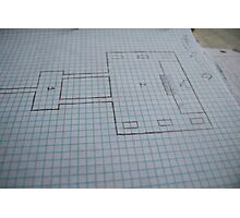 Dnd Map 7 Photographic Print