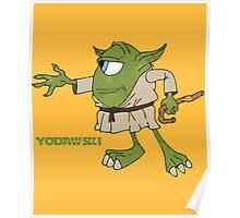 Star Wars Yodawski Poster