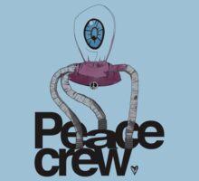 Peace Crew Sal Kids Tee One Piece - Short Sleeve