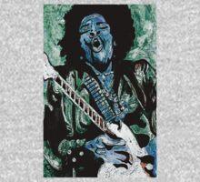 """Jimi Hendrix 2"" by Kevin J Cooper"